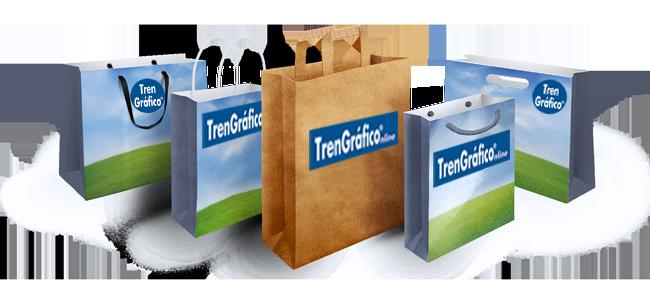 bolsas-ecológicas-de-papel-tren-grafico